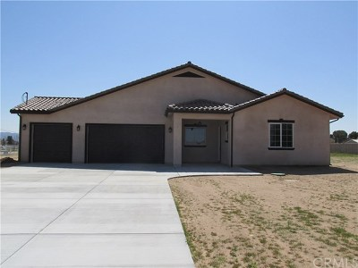 Single Family Home For Sale: 16251 Cactus Street