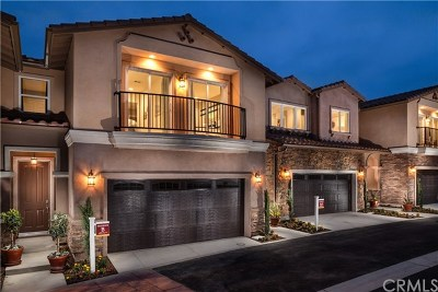 Chino Hills Condo/Townhouse For Sale: 15316 Lotus Circle