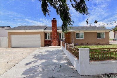 Anaheim Single Family Home For Sale: 1203 S Courtright Street