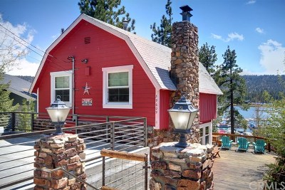 Blue Jay, Cedarpines Park, Crestline, Lake Arrowhead, Running Springs Area, Twin Peaks, Big Bear, Arrowbear, Cedar Glen, Rimforest Single Family Home For Sale: 39609 Lake Drive