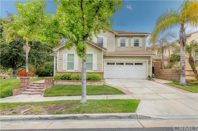 Fullerton Single Family Home For Sale: 3107 Parkside Crossing Lane
