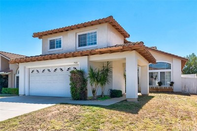 Corona CA Single Family Home For Sale: $519,000