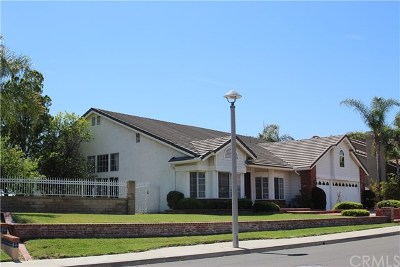 Yorba Linda Single Family Home For Sale: 24390 Avenida De Marcia