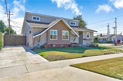 Long Beach Single Family Home Active Under Contract: 8100 E Token Street