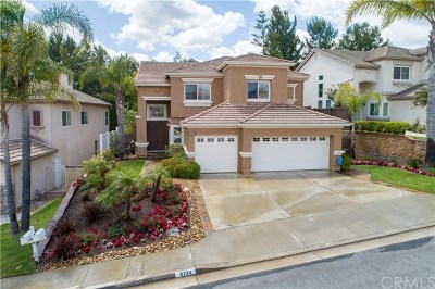 Anaheim Hills Single Family Home Active Under Contract: 8734 E Garden View Drive