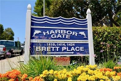 San Pedro Condo/Townhouse For Sale: 1414 Brett Place #145