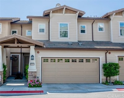 Yorba Linda Condo/Townhouse For Sale: 18610 Caddy Drive