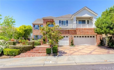 Yorba Linda Single Family Home For Sale: 17413 Vinwood Lane