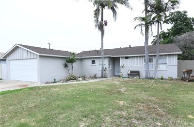 Garden Grove Single Family Home For Sale: 13532 Clinton Street