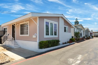 Costa Mesa Mobile Home For Sale: 327 W Wilson Street
