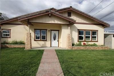 Bellflower Single Family Home For Sale: 9731 Rose Street