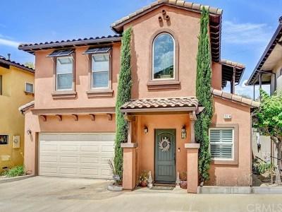 Monrovia Single Family Home For Sale: 401 Monrovista Avenue #B