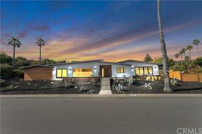 Rancho Palos Verdes Single Family Home For Sale: 6611 Vallon Drive