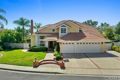 La Verne Single Family Home For Sale: 2785 Forester Drive