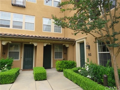 Irvine Condo/Townhouse For Sale: 81 Long Meadow #85