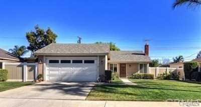 Tustin Single Family Home For Sale: 13152 Marshall Lane