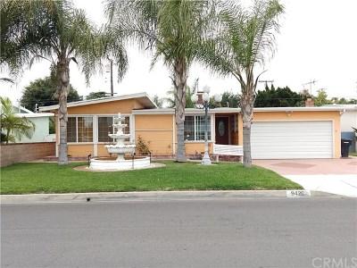 Bellflower Single Family Home For Sale: 9420 Hoback Street