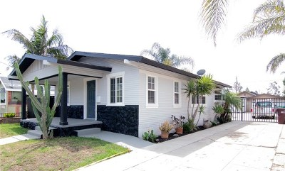 Santa Ana Single Family Home For Sale: 1124 W 3rd Street
