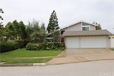 Costa Mesa Single Family Home For Sale: 2791 Vireo Circle