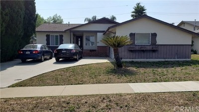 La Habra Single Family Home Active Under Contract: 321 N Fonda Street