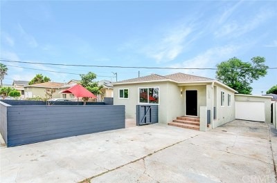 Torrance Single Family Home For Sale: 1505 W 224th Street
