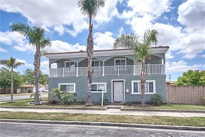 Orange County Commercial For Sale: 5861 Marshall Avenue