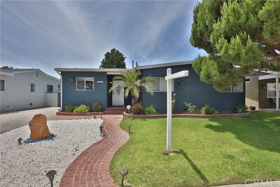 Torrance Single Family Home For Sale: 1017 Teri Avenue