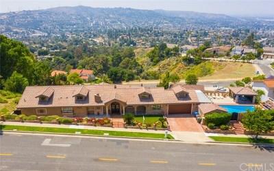 Hacienda Heights Single Family Home For Sale: 3133 Punta Del Este Drive