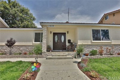 Whittier Single Family Home For Sale: 13809 Sunset Drive