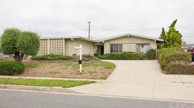 La Mirada Single Family Home For Sale: 14831 Tacuba Drive
