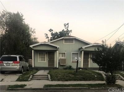 San Bernardino Multi Family Home For Sale: 767 W Olive Street
