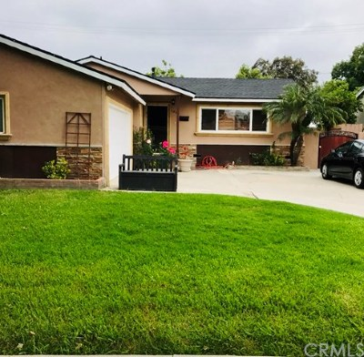 Santa Ana Single Family Home For Sale: 1940 Mark Street