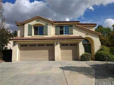 Wildomar Single Family Home For Sale: 36136 Madora Dr