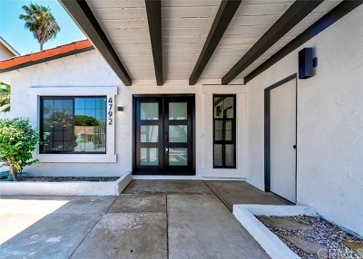 Irvine Single Family Home Active Under Contract: 4792 Lindstrom Avenue