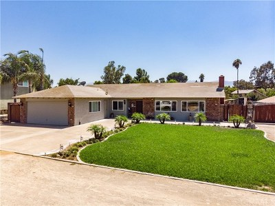 Norco Single Family Home For Sale: 1478 Hilltop Lane
