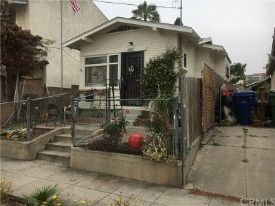 San Pedro Single Family Home For Sale: 2921 S Pacific Avenue