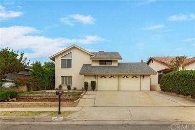 Brea Single Family Home Active Under Contract: 1159 Alta Mesa Drive