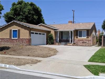 La Habra Rental For Rent: 320 Oakland Drive S