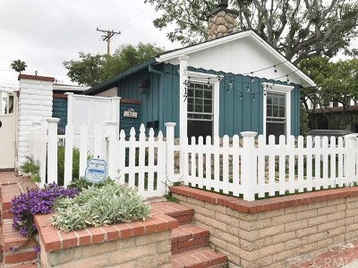 Corona Del Mar, Newport Coast Rental For Rent: 417 Heliotrope Avenue