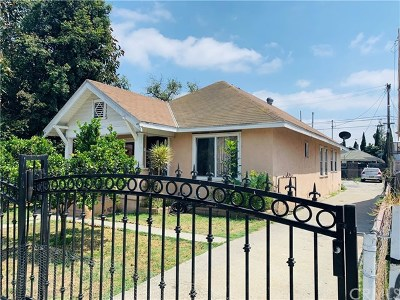 Los Angeles Single Family Home For Sale: 1302 E 48th Place