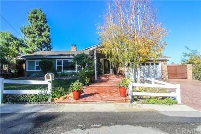 Palos Verdes Peninsula Single Family Home For Sale: 26659 Westvale Road
