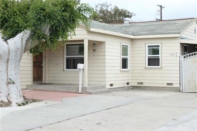 Santa Ana Single Family Home For Sale: 1231 Cypress Avenue