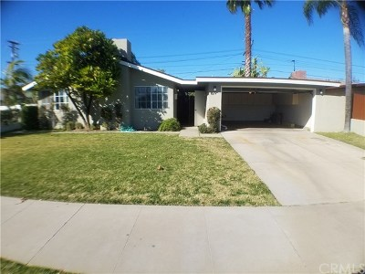 Orange Single Family Home For Sale: 1619 W Robin Road