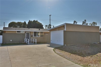 Whittier Single Family Home For Sale: 12926 Racimo Drive