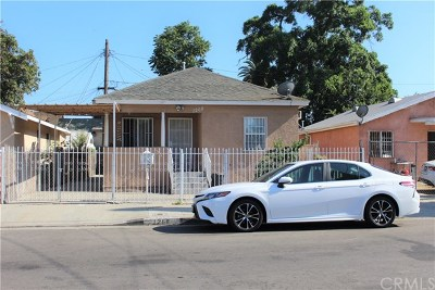 Los Angeles Single Family Home For Sale: 1268 E 47th Place