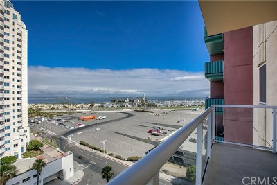 Long Beach Condo/Townhouse For Sale: 488 E Ocean Boulevard #914