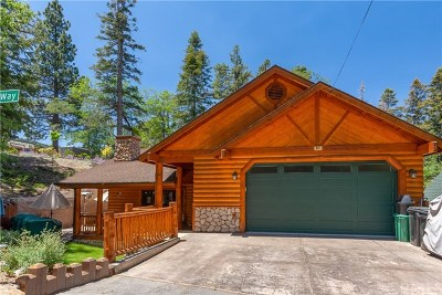 Blue Jay, Cedarpines Park, Crestline, Lake Arrowhead, Running Springs Area, Twin Peaks, Big Bear, Arrowbear, Cedar Glen, Rimforest Single Family Home For Sale: 842 Silver Tip Drive