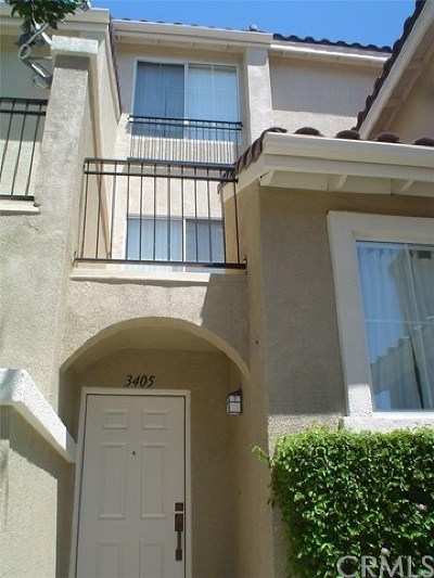 Irvine Condo/Townhouse For Sale: 3405 Orangewood