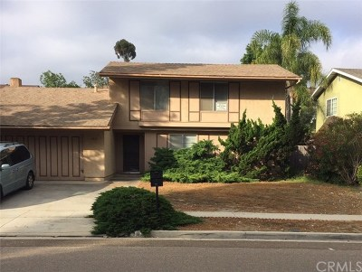 Vista Single Family Home For Sale: 1035 Phillips Street