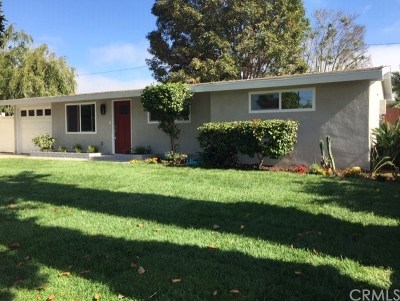 Costa Mesa Single Family Home For Sale: 649 Ross Street